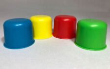 HI HO CHERRY-O Board Game Replacement Parts Complete Set 4 Plastic Buckets Piece