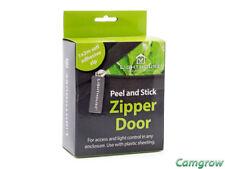 LightHouse -- Peel and Stick Zipper Door For Grow Tents Self Adhesive Zip