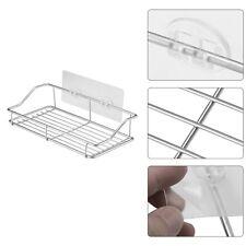 Chrome Stainless Steel shower caddy bath shelf 2 tier NO RUST soap rack tidy