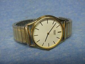 Men's Vintage SEIKO Gold Watch w/ New Battery