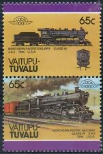 1904 Northern Pacific Railway Class W 2-8-2 Train Stamps / LOCO 100
