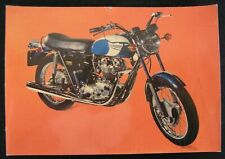 TRIUMPH TROPHY-COLLECTION CPA LES PLUS BELLE MOTOS DU MONDE/AUTOMOBILIA VINTAGE