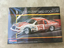 Vintage 1986 Monogram 2723 RICKY RUDD'S MOTORCRAFT T-BIRD STOCK CAR 1:24 - SEALE