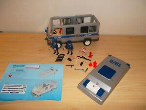 Playmobil Polizei Mannschaftswagen 4022