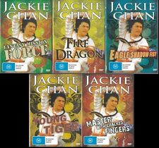 JACKIE CHAN 5 MOVIE COLLECTION - NEW & SEALED 5 DVDS