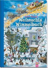 Weihnachtswimmelbuch von Anne Suess (2009, Gebunden)