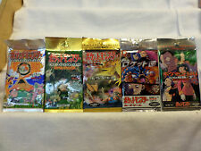 Lot Of 5 Origional Japanese Pokemon Factory Sealed 5 Different Booster Packs