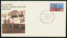 Mayfairstamps Australia FDC 1978 Royal Flying Doctor Service first Day Cover wwf