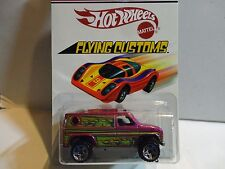 Hot Wheels Flying Customs Pink Baja Breaker Van
