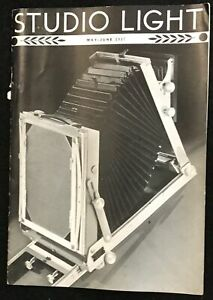 MAY-JUNE 1937 STUDIO LIGHT EASTMAN KODAK MAGAZINE