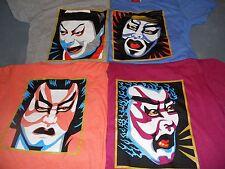 New Samurai t-shirt Kurosawa Kansai Bowie Inspired  80's Kamikaze  sizes:m/lg/xl