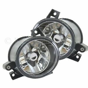 VW Polo MK4 9N 2002-2010 Front Fog Lights Lamps 1 Pair O/S & N/S Left & Right