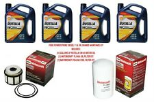 7.3L Ford Powerstroke Maintenance Kit 4 Gallons Shell Rotella Oil & Fuel Filters