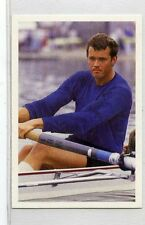 (Jh139-100) RARE,Trade Card Booster of Andy Holmes, Rower 1986 MINT
