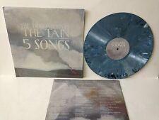 """THE DECEMBERISTS Tain 5 Songs 12"""" Splatter GREY BLUE WHITE vinyl Color Shrink NM"""