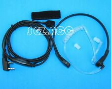 Throat Mic Air Acoustic Tube Earpiece for Kenwood BAOFENG UV5R BF888S Radio NEW