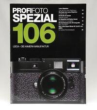 Profifoto Spezial 106 Leica - Die Kamera Manufaktur Prospekt M9P brochure -13701
