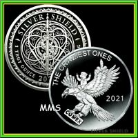 2021 1oz The Craziest Ones Proof Silver Shield MiniMintage PRESALE ***