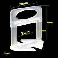 Fliesen Nivelliersystem Verlegehilfe Zuglaschen Laschen Lantelme 2mm Tile Spacer
