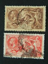 1653 Great Britain Sc 222-223 (Sg 450-1) Used