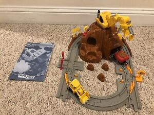 Fisher Price GeoTrax Mountain Blast Construction Rock Quarry Mine.