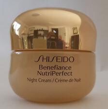 SHISEIDO  BENEFIANCE  NUTRIPERFECT  NIGHT  CREAM  50 ML NEU UND OVP