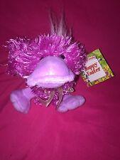 "Goffa International PINK DUCK 7"" Fuzzy plushToy Stuffed animal Quak quack sounds"