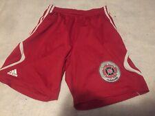 Mls Chicago Fire Kids Shorts Sz M