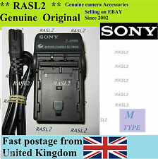 Genuine Sony bc-vm50 Charger for np-fm500h battery, clés prévues-DVD 301 201 101 hdr-hc1