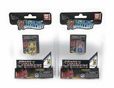 World's Smallest Transformers Micro Figures - Bumblebee & Optimus Prime Set of 2