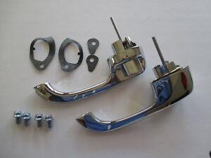 63 64 CHEV EXTERIOR FRONT DOOR HANDLES NEW 1963 1964 CHEVROLET IMPALA BELAIR