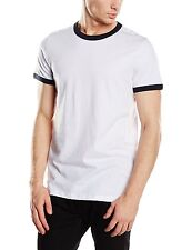 Jack & Jones Originals Jags Short Sleeve Crew Tee T-Shirt Medium BNWT White/Navy