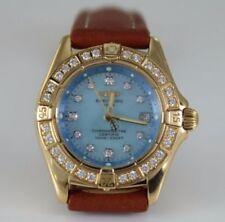 Relojes de pulsera Breitling de oro amarillo