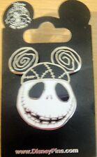 Disney- NBC-Jack Skellington -Ear Hat Pin - New on Card # 100928
