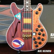 """PHIL LESH - Alembec """"Steal Your Face"""" Bass 1:4 Scale Replica Guitar ~Axe Heaven"""