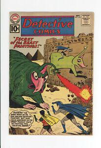 DETECTIVE COMICS #295  - SCARCE BATMAN and AQUAMAN - 1961