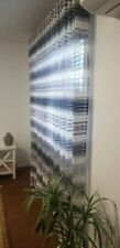 5 panels of Curtains for living room or any room  blue.Lenght 92 Width136inch EA