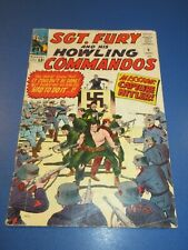 Sgt. Fury and His Howling Commandos #9 Silver age VG-