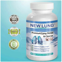 ✅ Lung Cleanse Clear Lung Detox 4 Smokers Respiratory Support Vitamin Supplement
