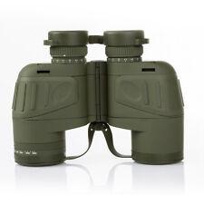 Waterproof 10x50 Zoomable Binocular Night Vision Rangefinder Telescope&Compass