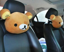 San-X Rilakkuma Relax Bear Car Seat Head Rest Cushion Neck Pillow 1PC  ^