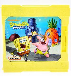 SpongeBob Squarepants Matchbox Pop Up Adventure Travel Folding Play Set VGUC!