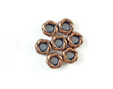 Antique Copper Brass Plated Lead Safe Alloy 20x6mm Dragonfly Wing Beads Q50