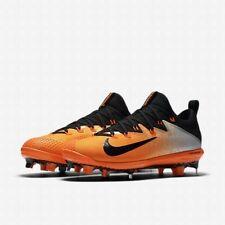Nike Lunar Vapor Ultrafly Elite sz 12 Orange 852686 807 Metal Hybrid Baseball
