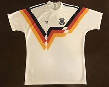 Rare Vintage 80 s Adidas Germany Deutcher Fussball-Bund Futbol Soccer Jersey 9b2c721ec