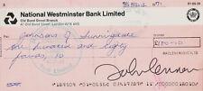 Beatles John Lennon Autograph / Signed 1971 MACLEN Immaculate PSA GRADED 10!!!!