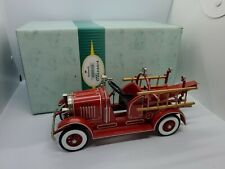 Hallmark Kiddie Car Classics 1935 American National Fire Tower Pedal Limited Ed