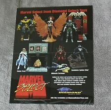 Marvel Select 2005 THANOS Carnage Spider-Man Emma Frost Phoenix PROMO Poster FN