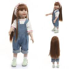 Hot Lifelike Full Body Girl Reborn Toddler Doll Gift for Girl Educational Toys
