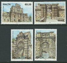 Malta 2012 - Treasures of Malta Historic Gates Architecture - Sc 1472/5 MNH